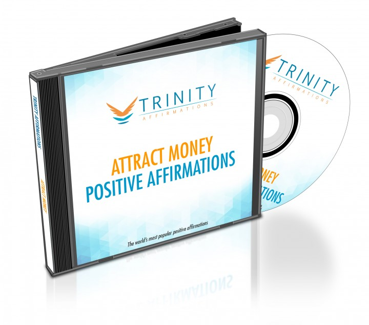 Attract Money Affirmations CD Album Cover