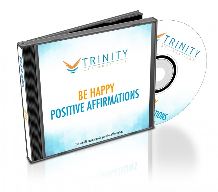 Be Happy Affirmations CD Album Cover