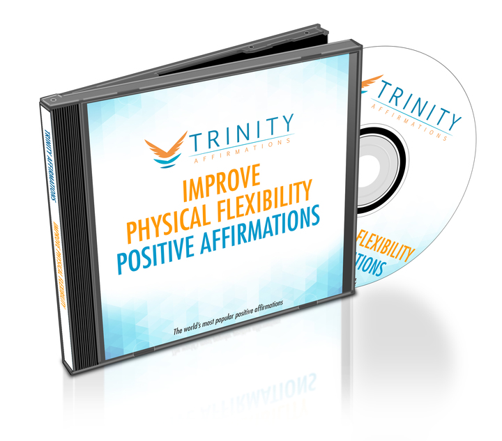 Improve Physical Flexibility Affirmations CD Album Cover