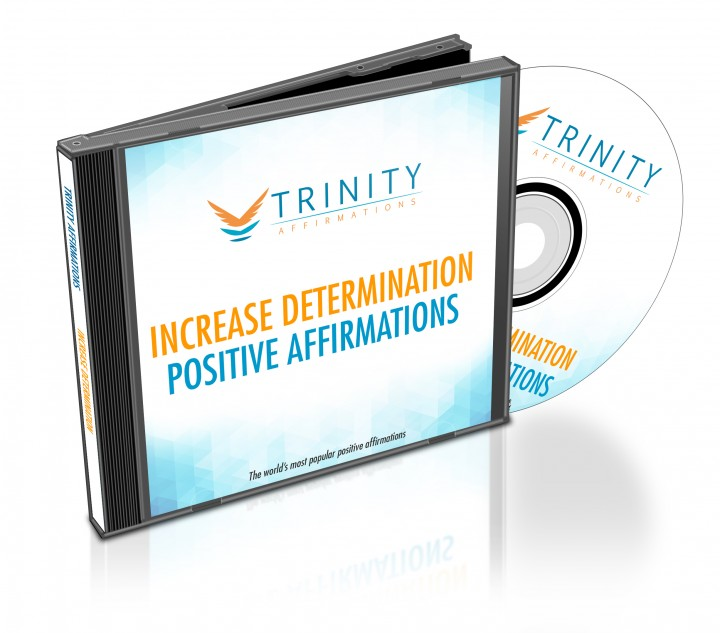 Increase Determination Affirmations CD Album Cover