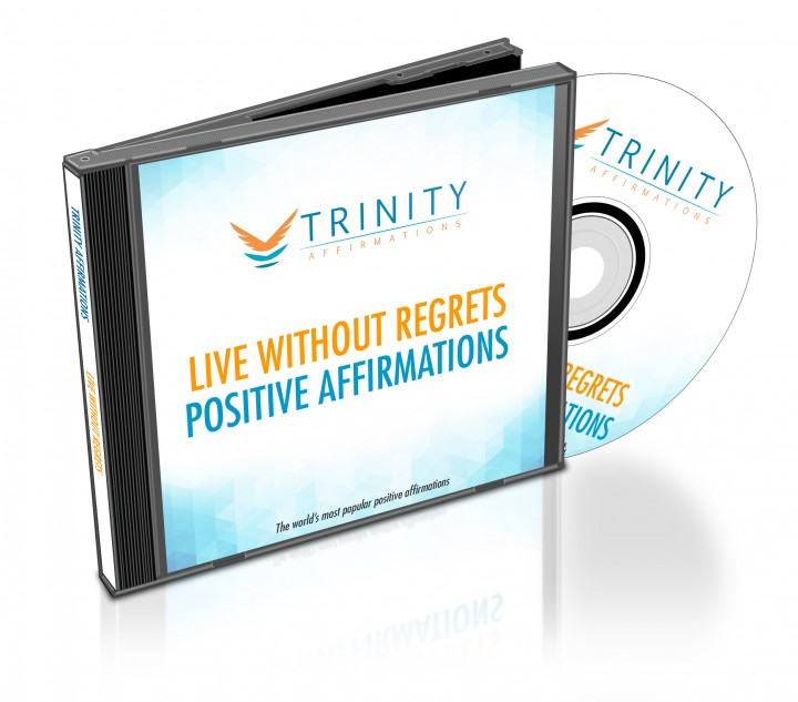 Live Without Regrets Affirmations CD Album Cover