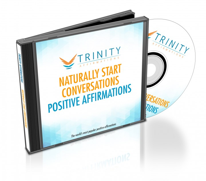 Naturally Start Conversations Affirmations CD Album Cover