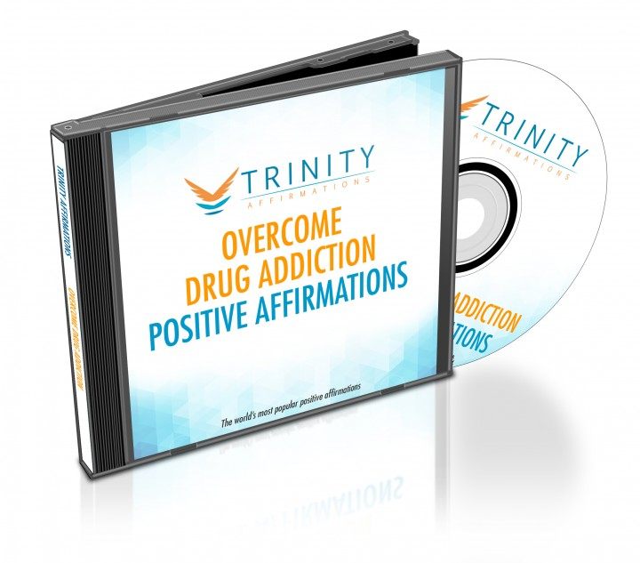 Overcome Drug Addiction Affirmations CD Album Cover