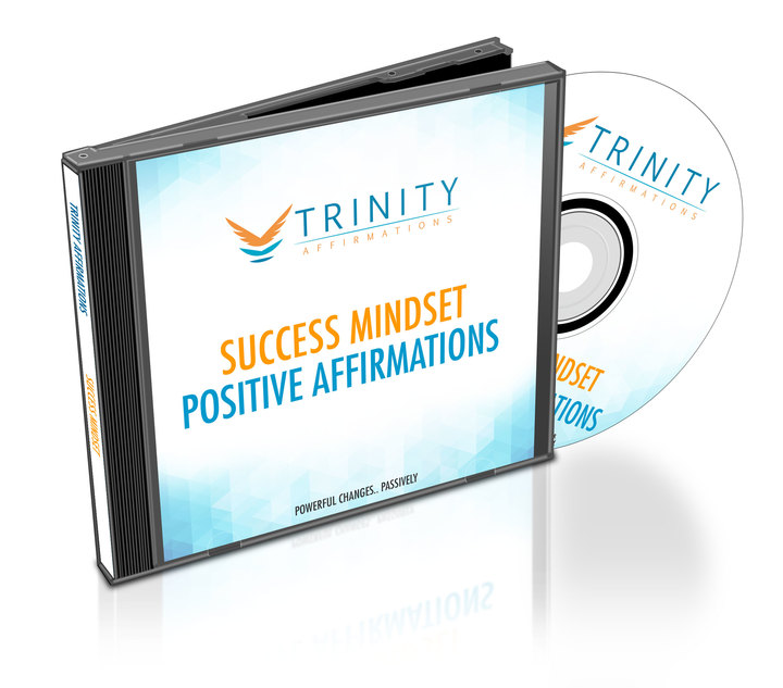 Success Mindset Affirmations CD Album Cover